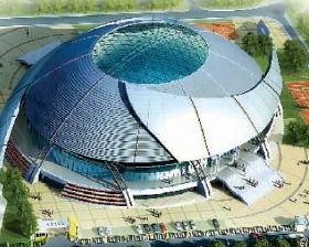 揭阳市念慈体育馆泳池水处理